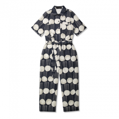 Vimma Jumpsuit HARRI Rain dance Black-white S-XL - black-white, HARRI, Jumpsuit, Rain dance, S-XL