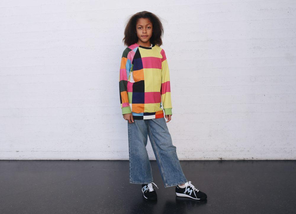 Vimma sweatshirt RIA Palikat colorful 90-140cm - 90-140cm, colorful, Palikat, RIA, sweatshirt