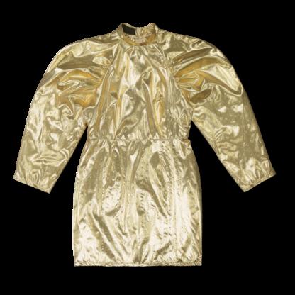 Vimma Dress JANETTE metallic golden XS-L - Dress, golden, JANETTE, metallic, XS-L