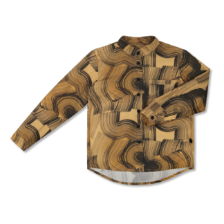 Vimma Button-up shirt VEIKKO Veto Ruskea 90-160 cm - 90-160 cm, Button-up shirt, ruskea, VEIKKO, Veto