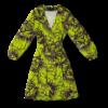 Vimma Wrapped Dress INKERI Onnenruusu yellow Onesize - INKERI, Onesize, Onnenruusu, Wrapped Dress, yellow