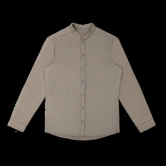 Vimma Shirt ROOPE yksivärinen Harmaa S-L - harmaa, ROOPE, S-L, Shirt, yksivärinen