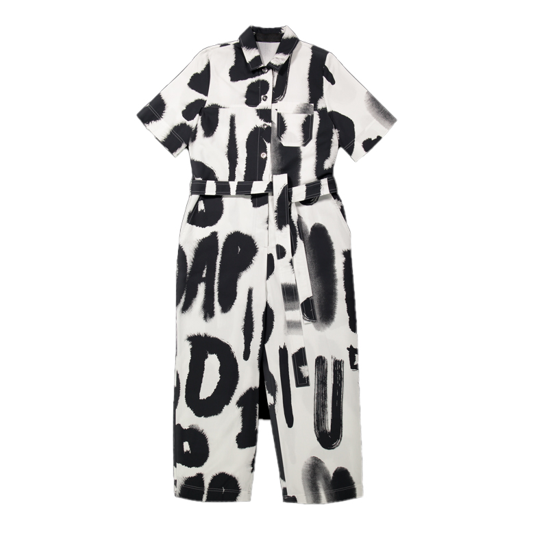 Vimma Jumpsuit HARRI Arc black-white S-XL - Arc, black-white, HARRI, Jumpsuit, S-XL