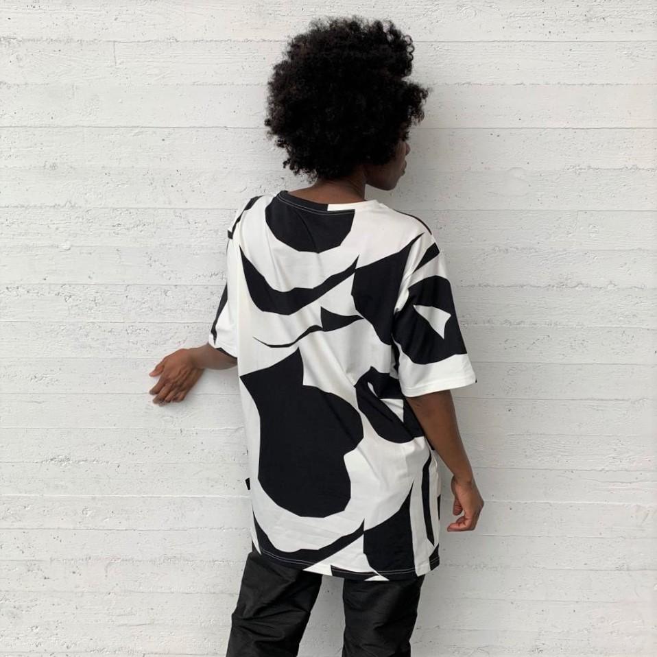 Vimma T-shirt Unisex RAUHA Arc black-white Onesize - Arc, black-white, Onesize, RAUHA, T-shirt / Unisex
