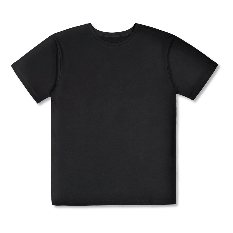 Vimma t-shirt Bamboo RAUNI one-colored black one size - black, one size, one-colored, RAUNI, t-shirt/bamboo