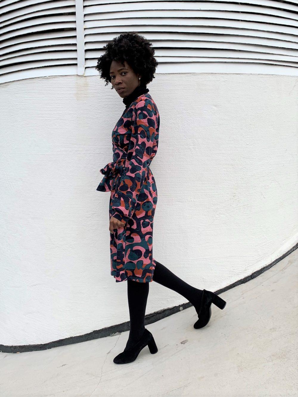 Vimma Ruffle Dress IRINA black Onesize - black, IRINA, Onesize, Ruffle Dress