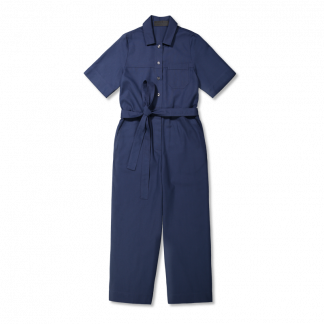 Vimma Jumpsuit HARRI one-colored blue S-XL - blue, HARRI, Jumpsuit, one-colored, S-XL