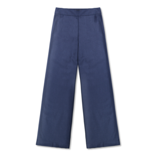 Vimma trousers ILONA one-colored blue XS-XL - blue, ILONA, one-colored, trousers, XS-XL