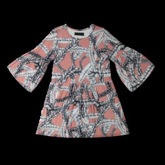 Vimma Tunic dress KUKKA winter Letti Karpalo XS-L - braid, Karpalo, KUKKA winter, tunic-dress, XS-L