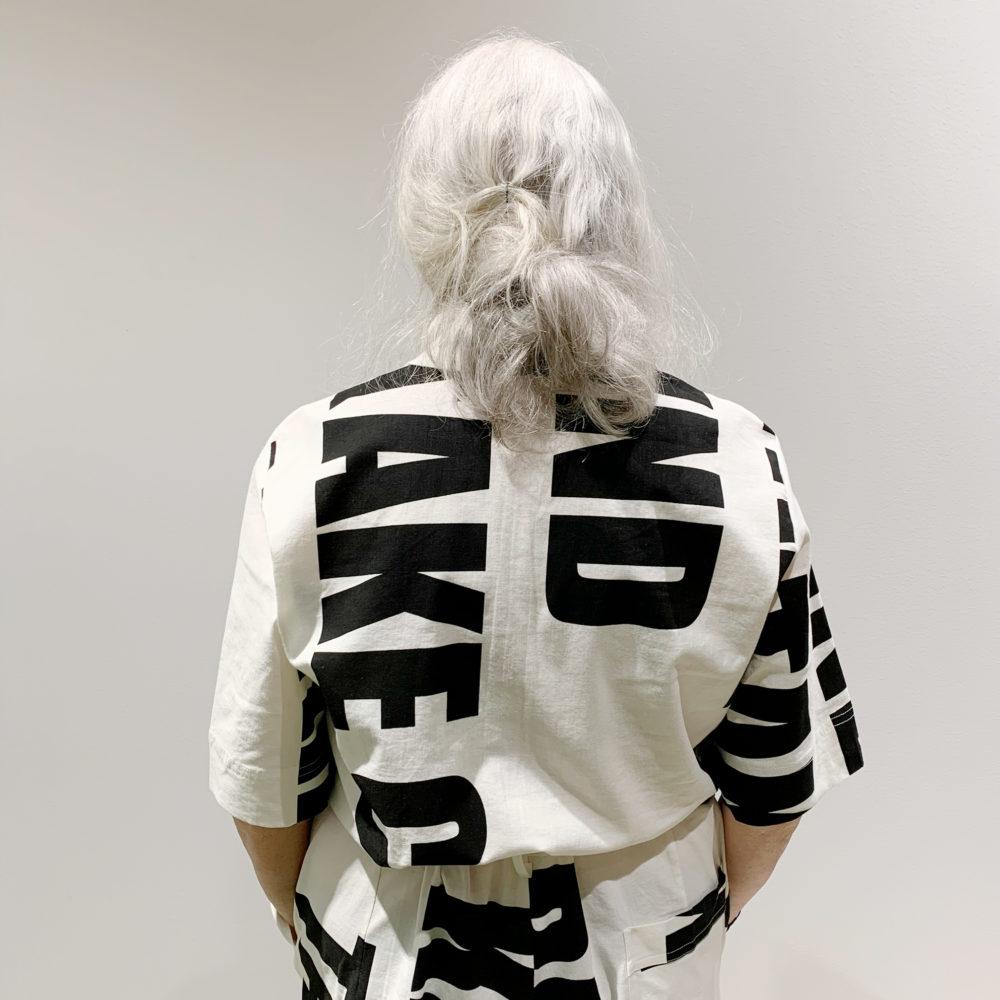 Vimma Jumpsuit HARRI Be Kind Take Care black-white S-XL - Be Kind Take Care, black-white, HARRI, Jumpsuit, S-XL