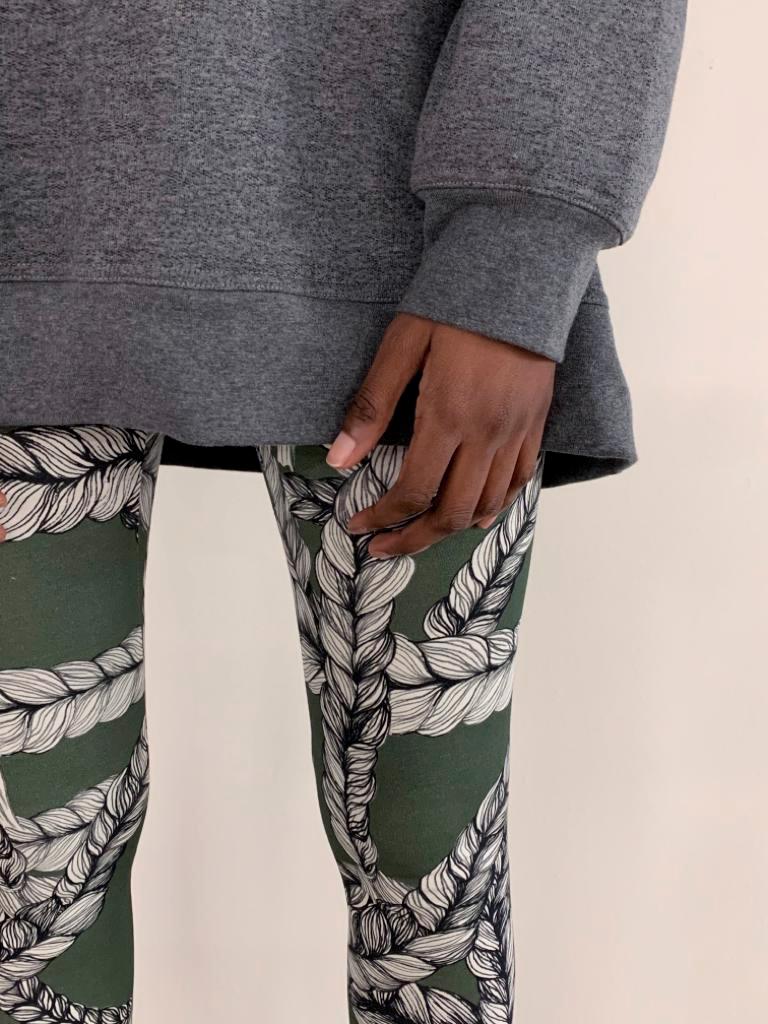 Vimma leggings KAINO Letti Naava XS-XL - braid, KAINO, leggings, Naava, XS-XL