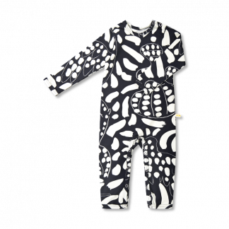 Vimma bodysuit RASA Hide and seek musta-valkoinen 60-90cm - 60-90cm, black-white, bodysuit, Hide and seek, RASA