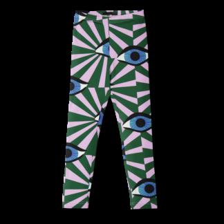 Vimma leggings ELO äidin valvova silmä green 80-110 cm - 80-110 cm, äidin valvova silmä, ELO, green, leggings