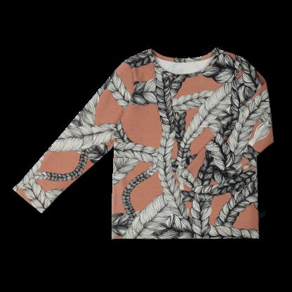 Vimma Long-Sleeve Shirt PAU letti Ruukku 80-140 cm - 80-140 cm, braid, Long-Sleeve Shirt, PAU, Ruukku