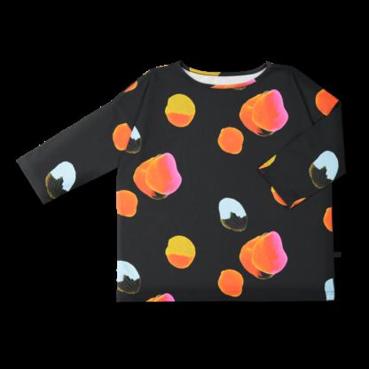 Vimma Shirt LANA Yö musta-värikäs S-L - black-colourful, LANA, S-L, Shirt, Yö