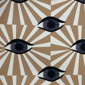Vimma Cotton textile Äidin valvova silmä Beige woven cotton - äidin valvova silmä, beige, Cotton textile, woven cotton