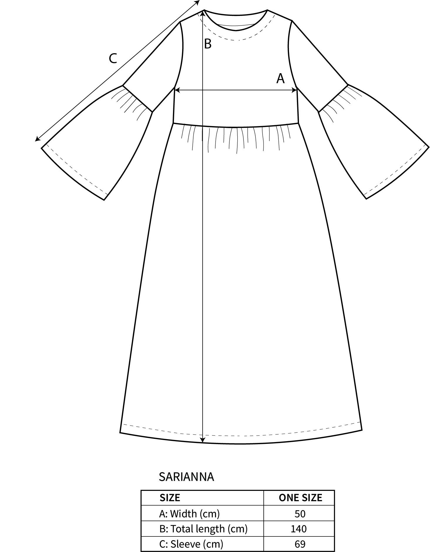 SARIANNA-mekko