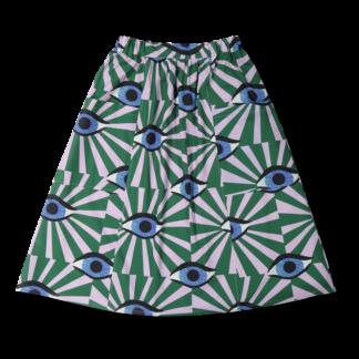 Vimma Skirt SANELMA äidin valvova silmä vihreä Onesize - äidin valvova silmä, green, Onesize, SANELMA, Skirt
